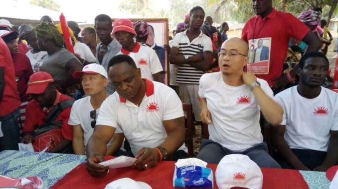 Risultati immagini per APC manifest elections sierra leone china