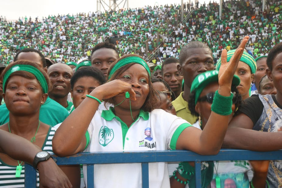 elections 2018 – slpp supporters