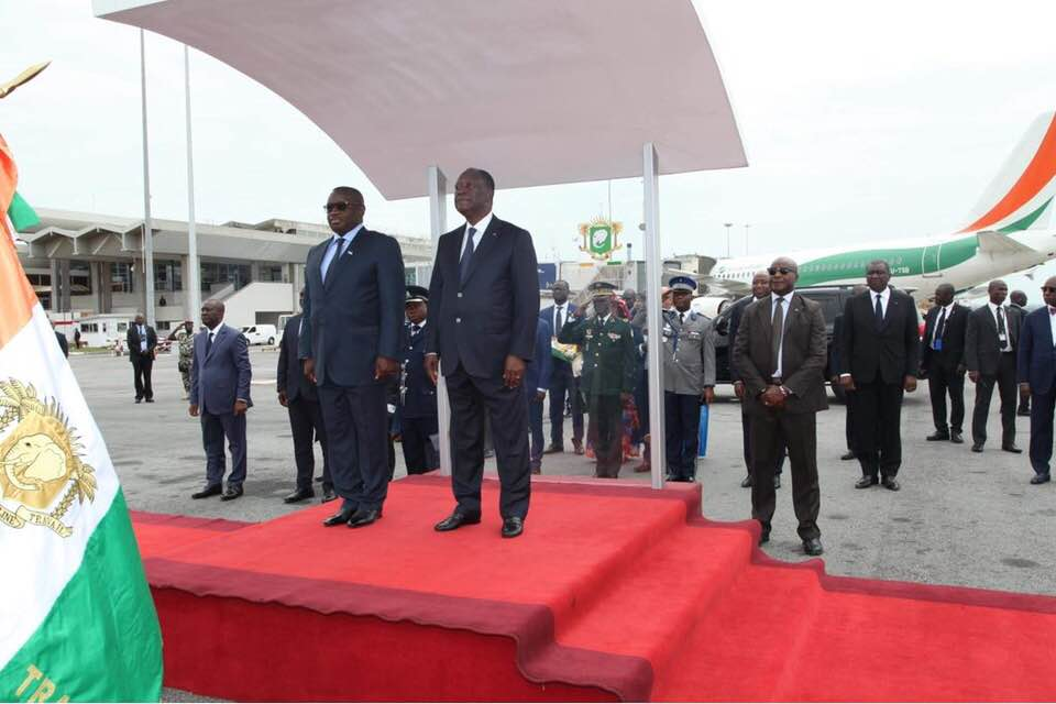 president Bio in Ivory Coast 1