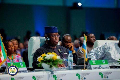 president Bio and regional leaders at 53rd ECOWAS summit.jpg3