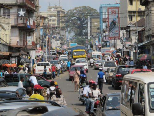 traffic in freetown1