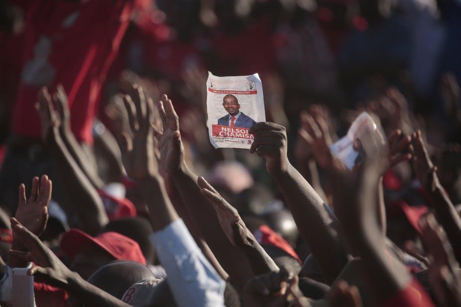 Polls close in historic Zimbabwe election