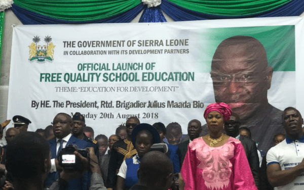 launch of free education 22