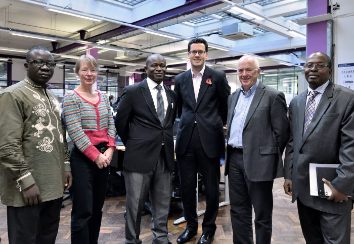 IC- Sierra Leone delegation to Electrical Engineering labs-Nov 2018
