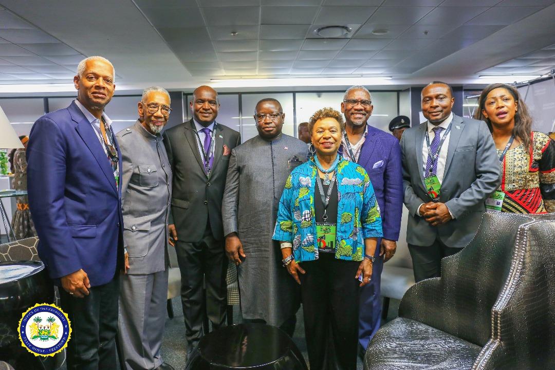 President Bio at the Mandela Global Festival 2