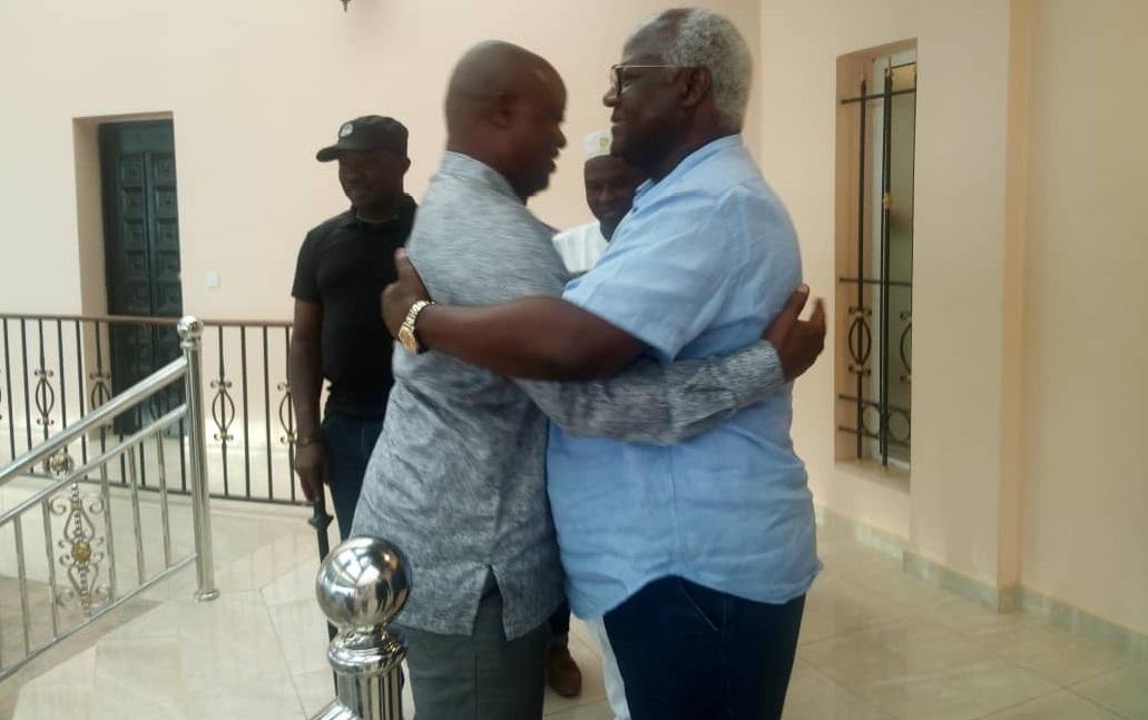 Sam Sumana meets Ernest Koroma in Makeni – 4 Jan 2019 – 1