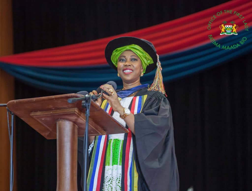 Fatima Bio robed as Honorary Fellow of the West African College of Nursing – 3