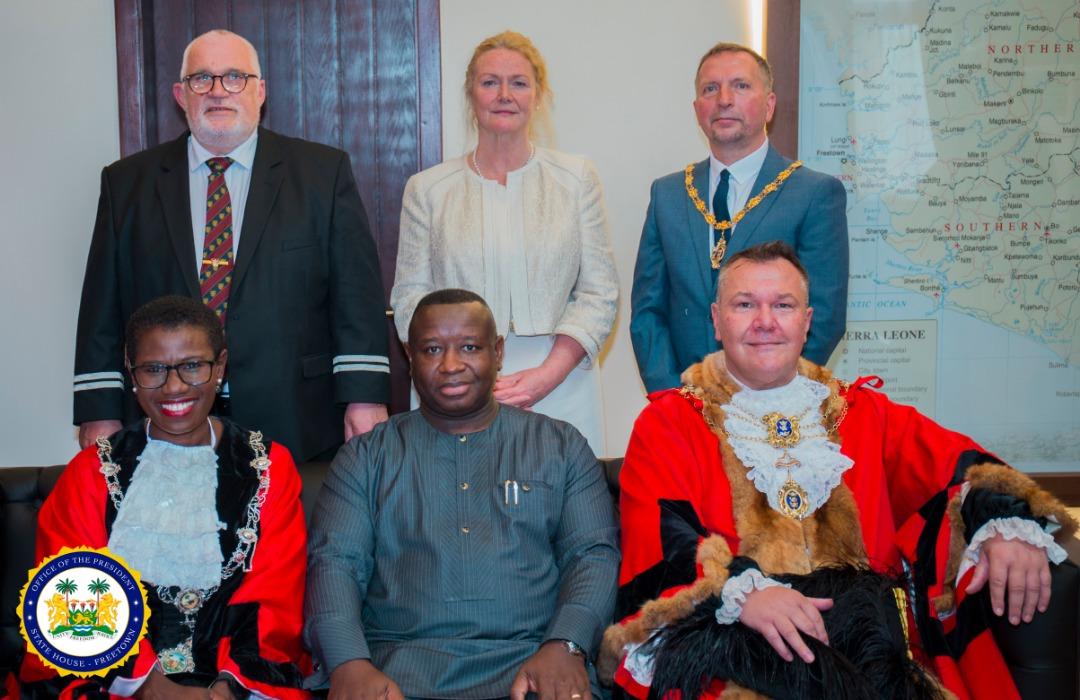 mayor of Hull in Freetown 2