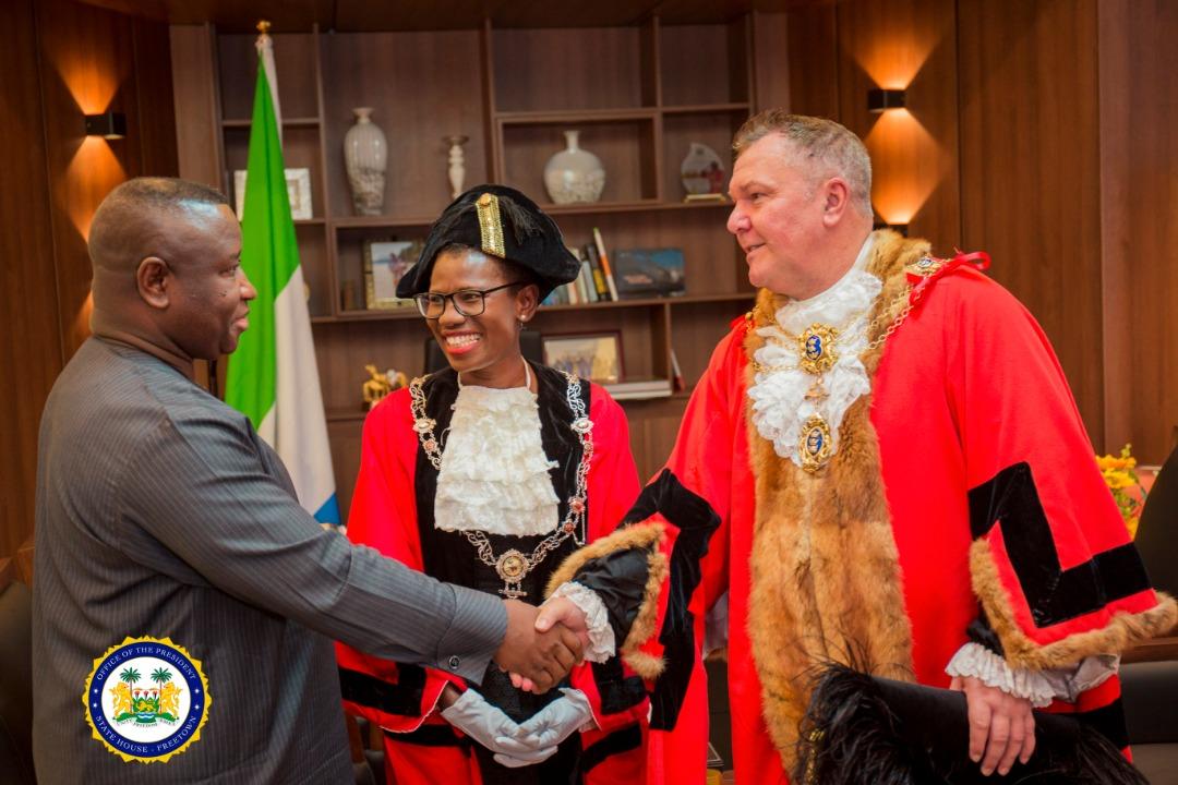 mayor of Hull in Freetown 3