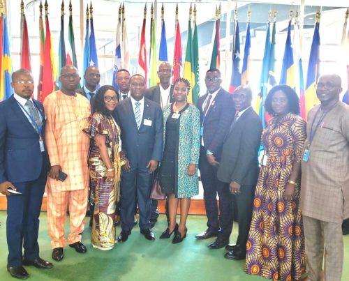 Dr. Francis KaiKai at UN
