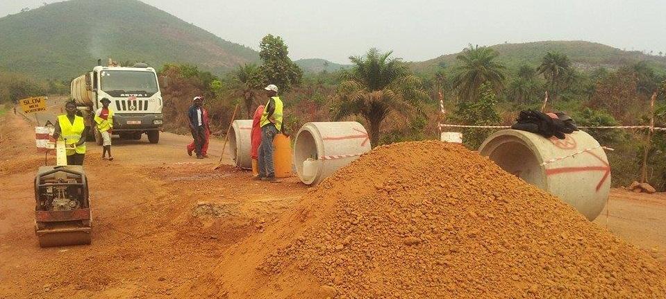 sierra leone – road construction
