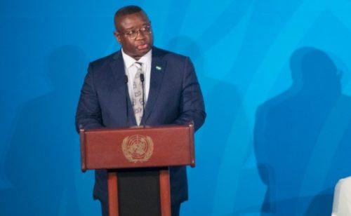 President Bio on UN climate change 1
