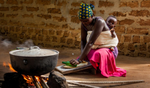 cooking in Africa