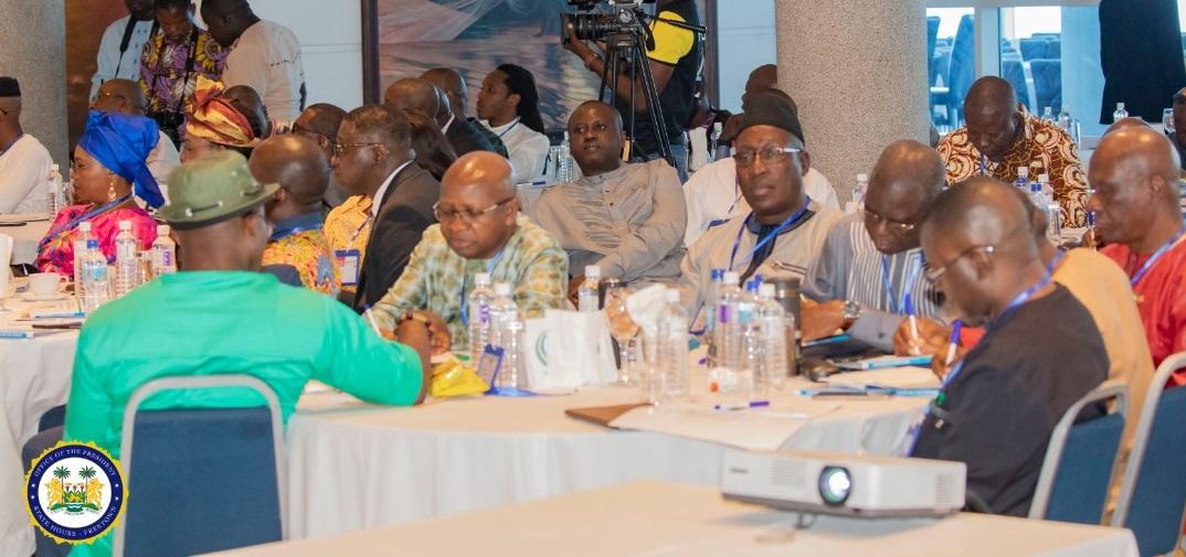 Ministerial retreat number 3 at Bintumani – Jan 2020 3