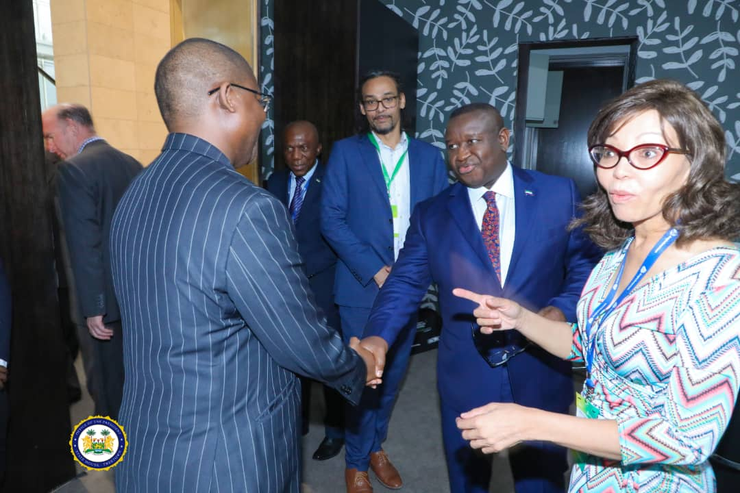 President Bio Urges South Africa to Lead Africa's Integrated Trade and Investments Drive 1