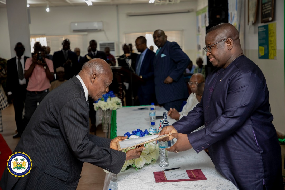 President Bio receives COI reports – 250320 7