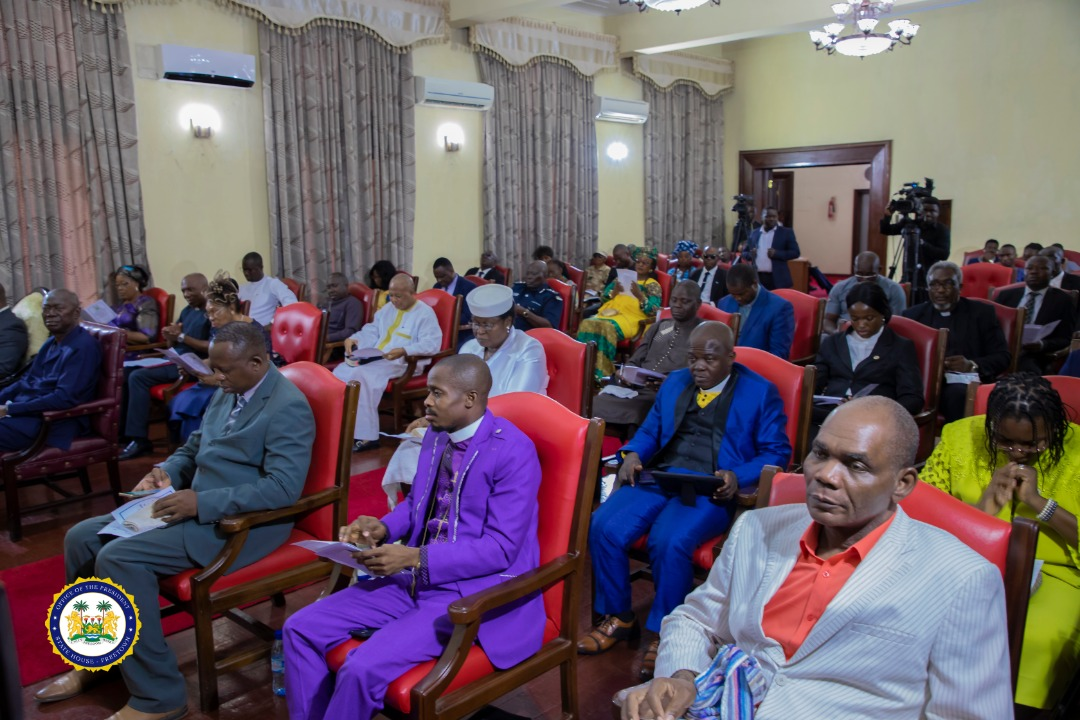 President Bio urges Sierra Leoneans to remain vigilant and promote social distancing3