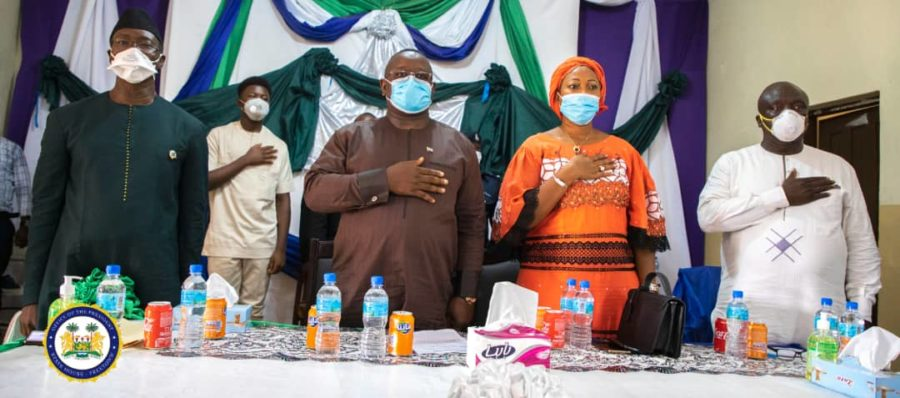 President Bio Unveils Digital Health Learning Platforms for Healthcare Workers in Bonthe 1