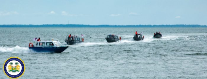 President Bio commissions four inshore patrol boats to protect the country's territorial waters 2