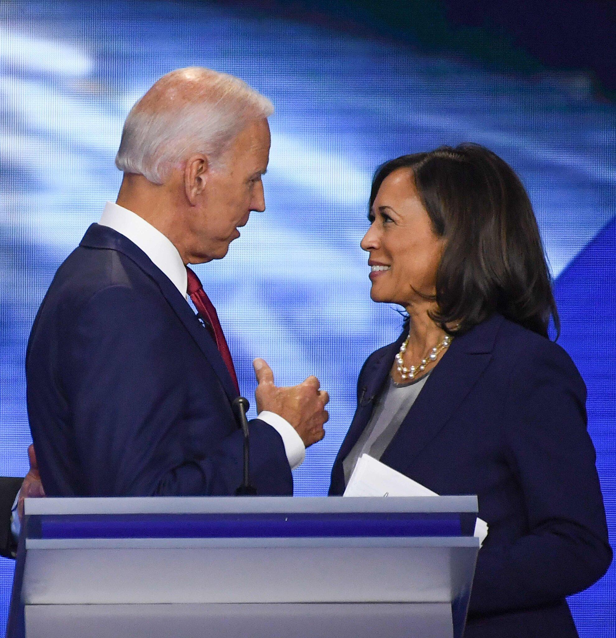 Joe Biden and kamala Harris 2