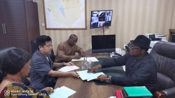 Kingho and Sierra Leone government sign railway and port lease agreement 1