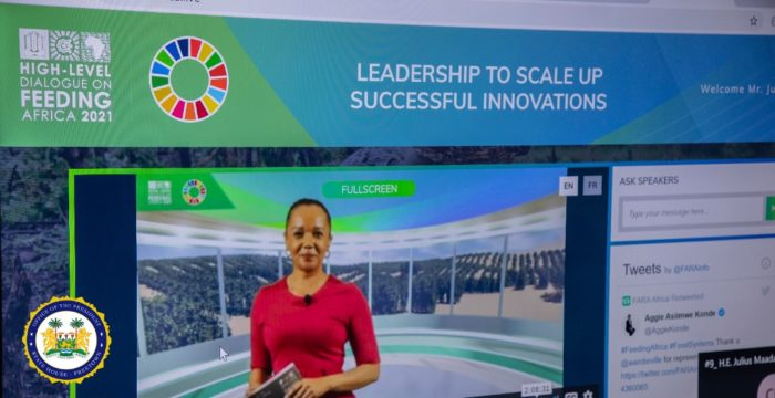 President Julius Maada Bio Participates in a High-Level Virtual Dialogue on Leveraging Innovations and Technology1
