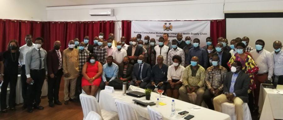 Sierra Leone health supply chain conference 21 June 2021