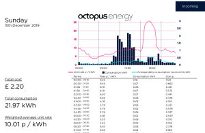 Octopus Energy Usage Example