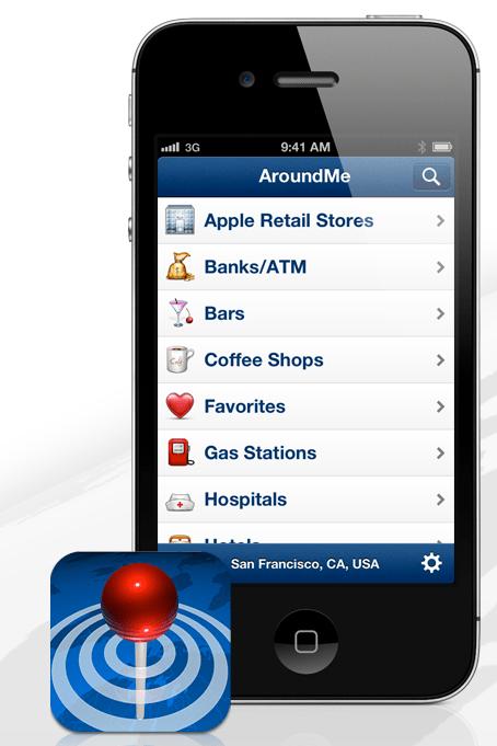 around me iphone app