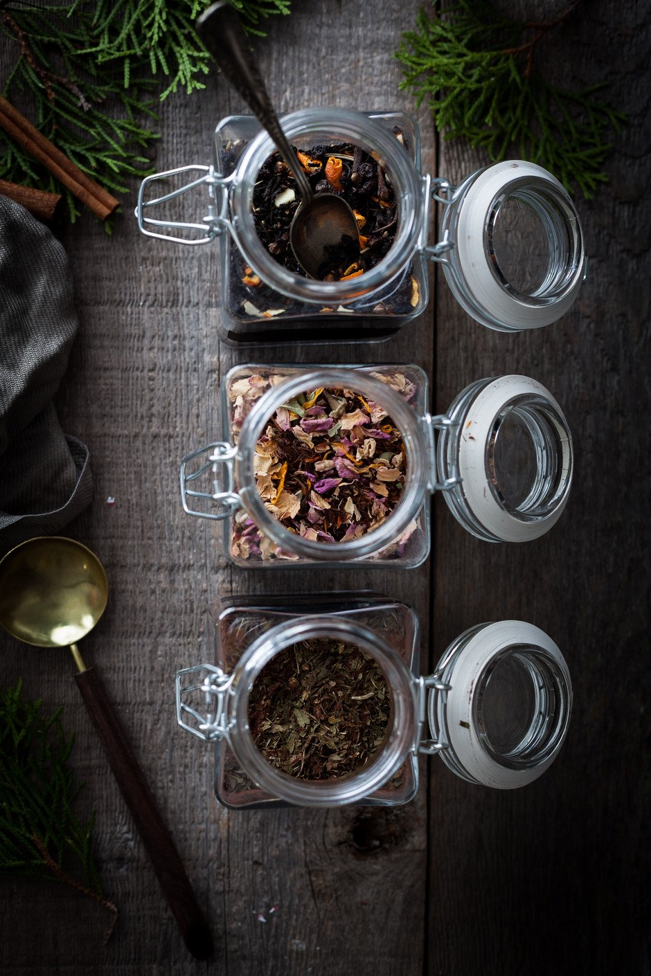 Holiday Tea Blends - The Simple Green 1