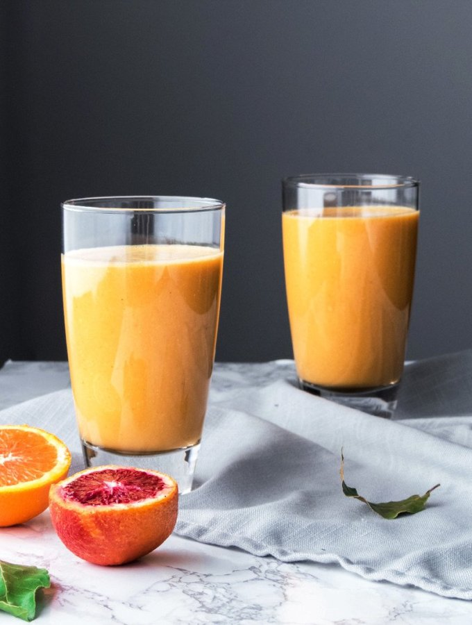 Sunrise Citrus Root Smoothie