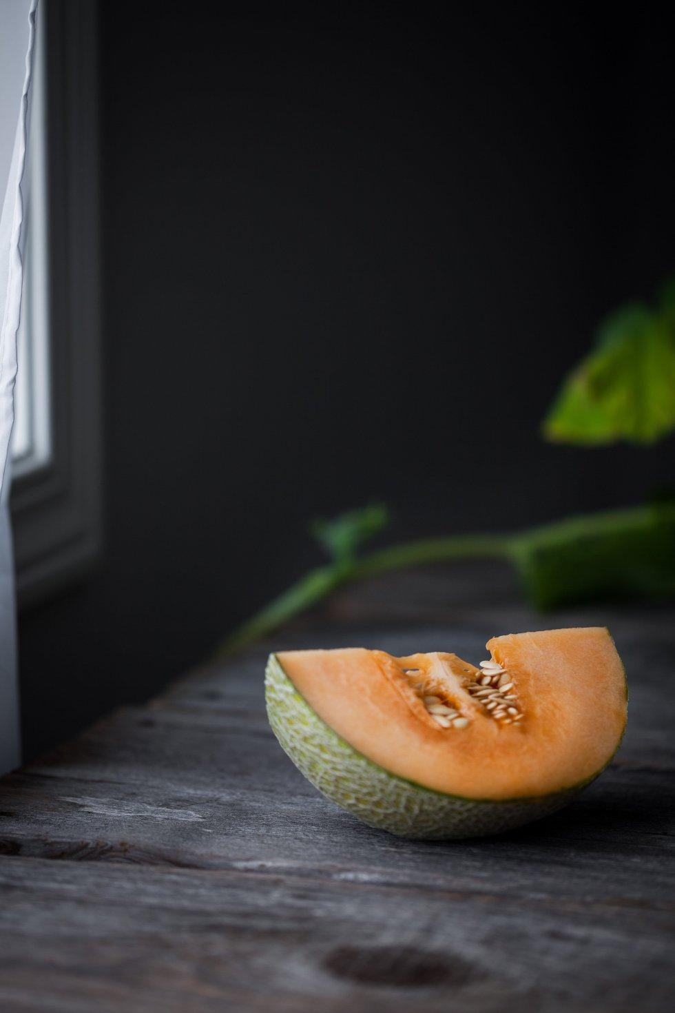 Honey Melon Rose Smoothie