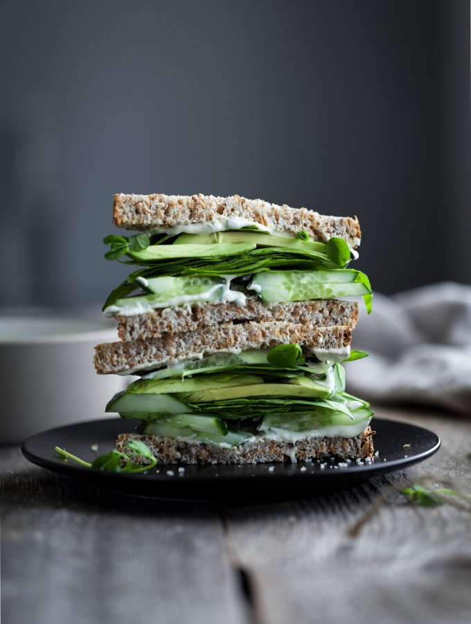 the simple green - green goddess sandwich