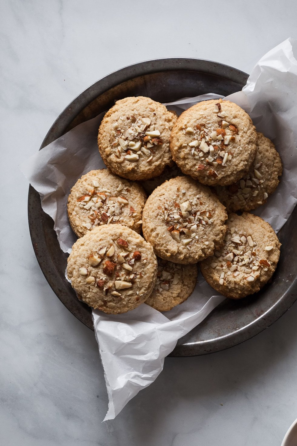 Gluten Free Maple Almond Cookies - The Simple Green