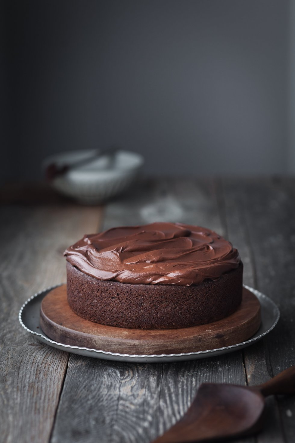Double Chocolate Beetroot Cake head on shot