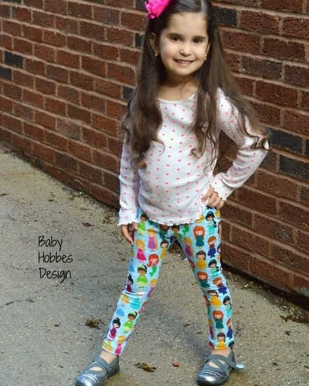 Chloe's Ruffle Leggings + Capris + Shorties | The Simple Life Pattern Company