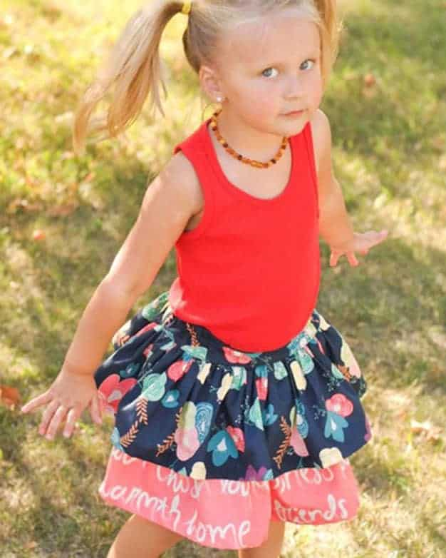 Daphne's Double Skirt | The Simple Life Pattern Company