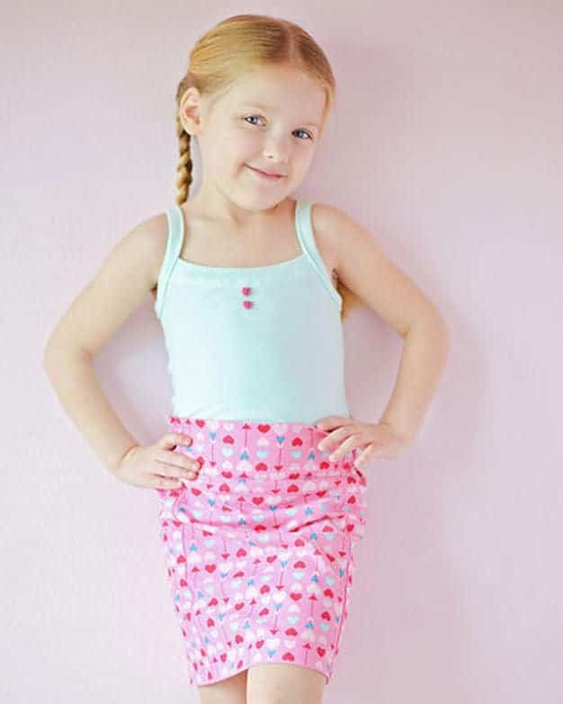 FREE sewing pattern Camis tank top knit Cami's spaghetti strap top pajama PJ tank jersey summer sewing pdf easy beginner simple life pattern company
