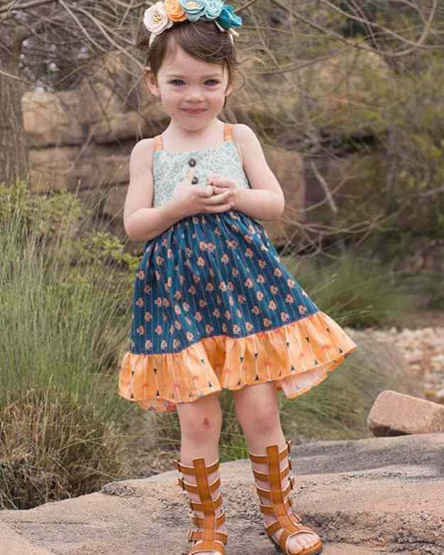Baby Bella Dress | The Simple Life Pattern Company