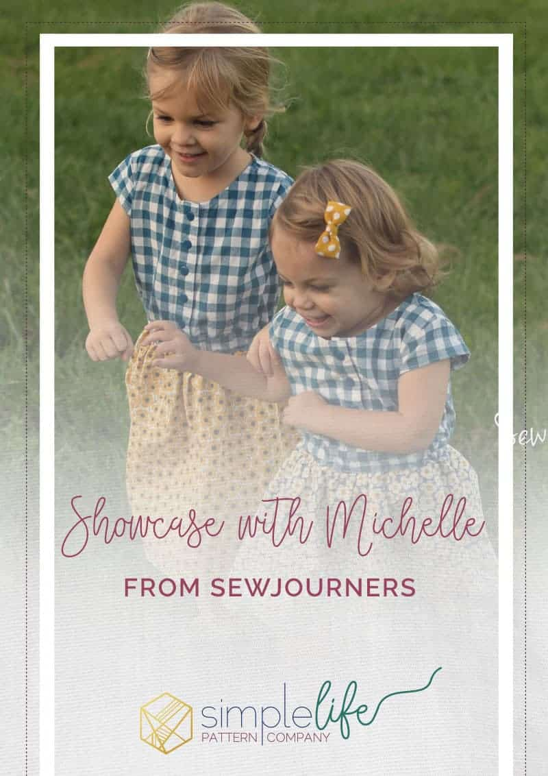 Showcase Michelle Sew Journers The Simple Life Pattern Company