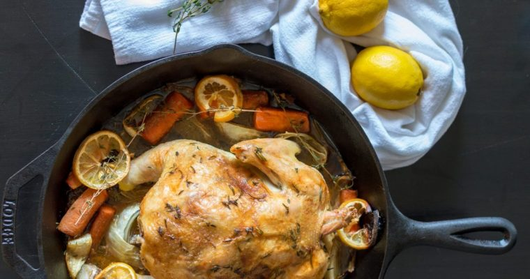 Citrus and Herb Roasted Chicken