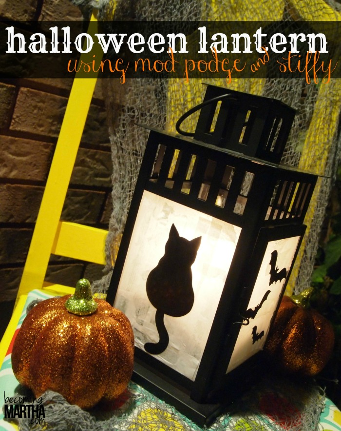 Halloween Lantern - The Simply Crafted Life