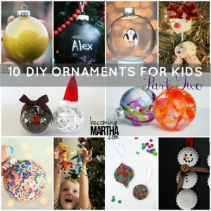 DIY Ornaments for Kids - The Simply Crafted Life
