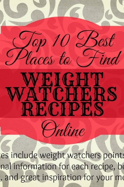 The 10 Best Resources for Weight Watchers Recipes