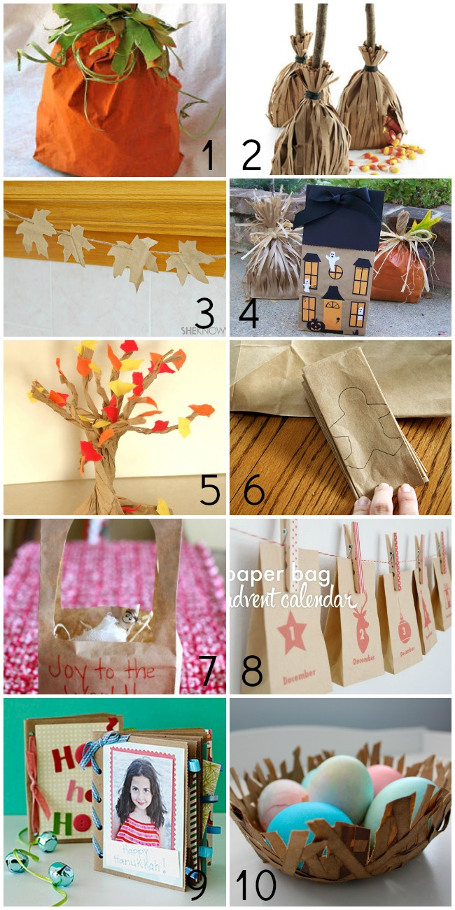 50+ Things to Make With Paper Bags - For the Holidays