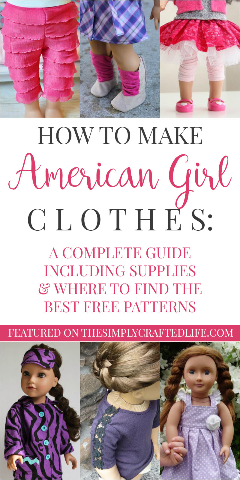 How To Make American Girl Doll Clothes A Guide To Free Ag