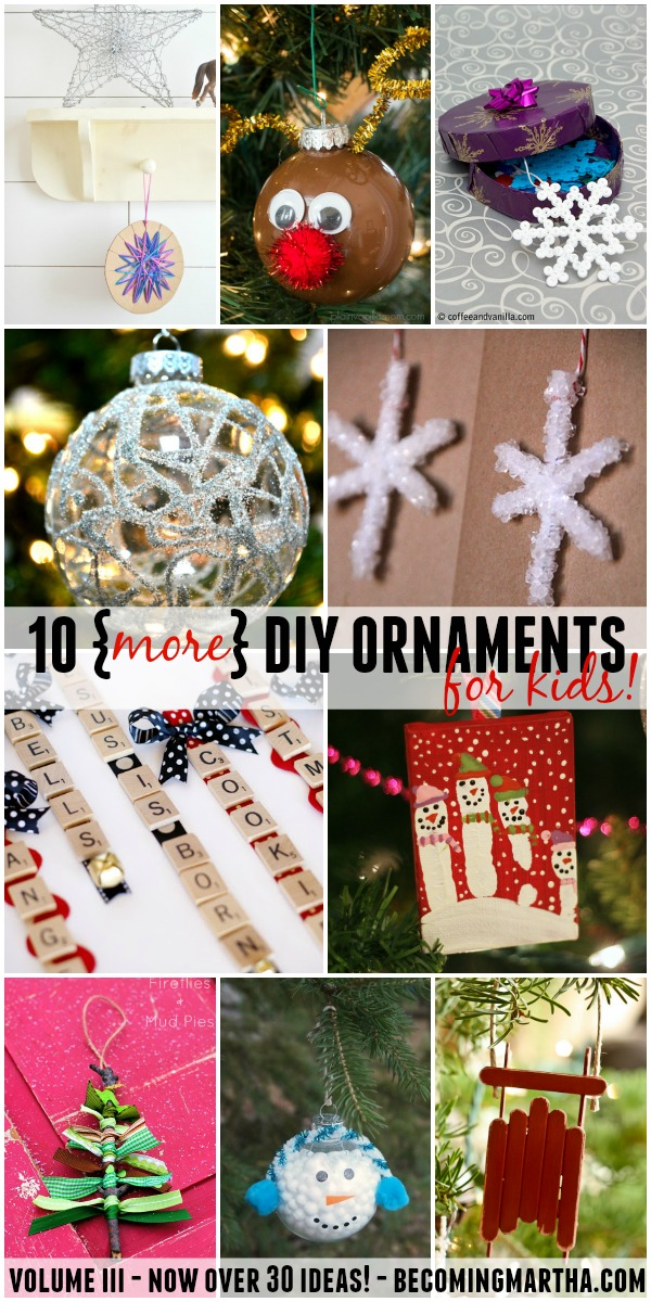 10 diy ornaments for kids