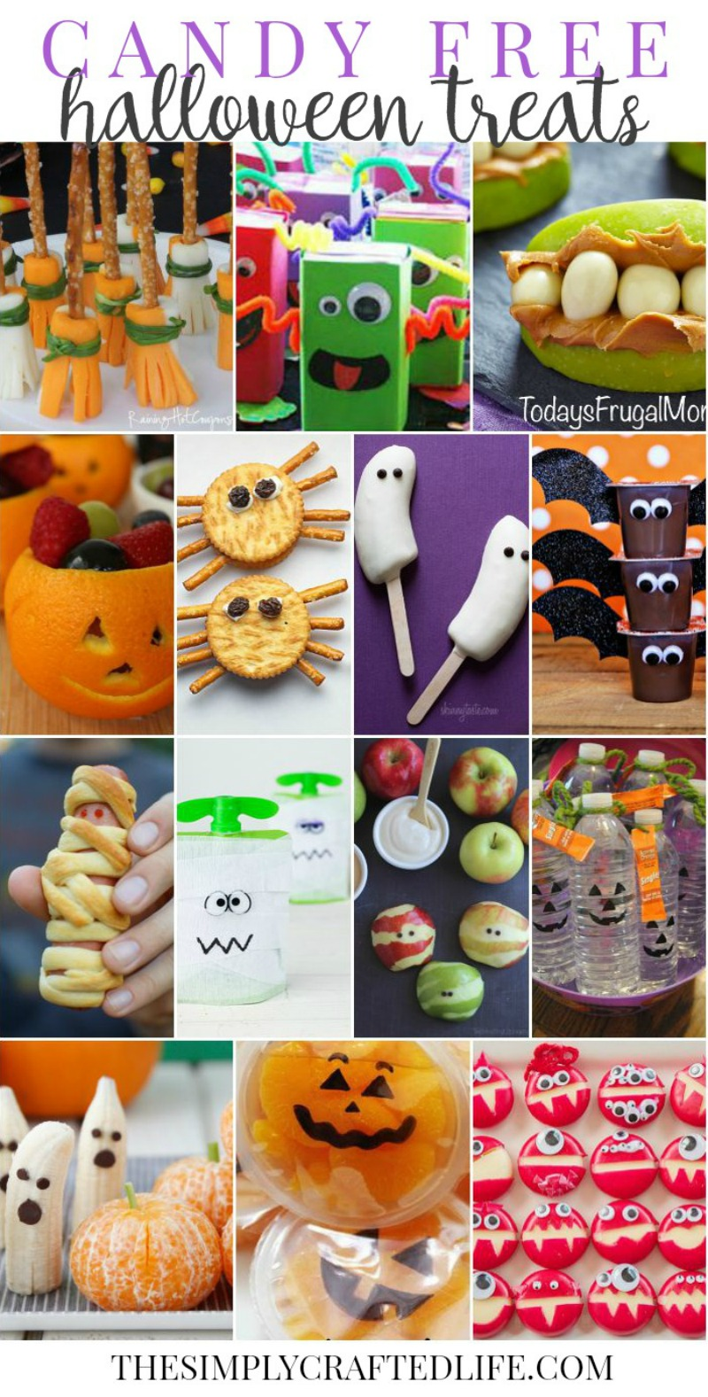 Candy Free Classroom Halloween Treats