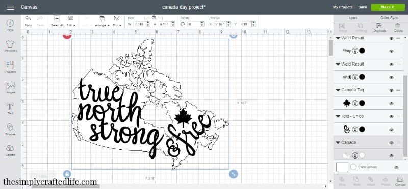 Ever wondered how to make a reverse canvas with Cricut Maker or Explore? This post will show how easy it is to create a beautiful and trendy piece for your home.