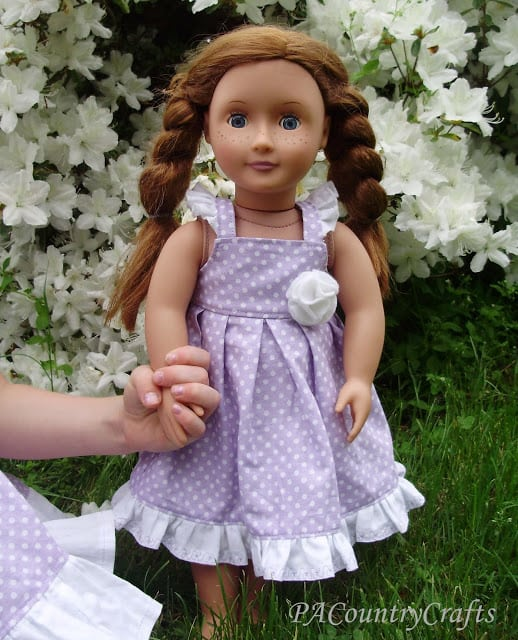 graphic regarding American Girl Doll Clothes Patterns Free Printable called How in direction of Deliver American Woman Doll Outfits: A Direct in the direction of Cost-free AG